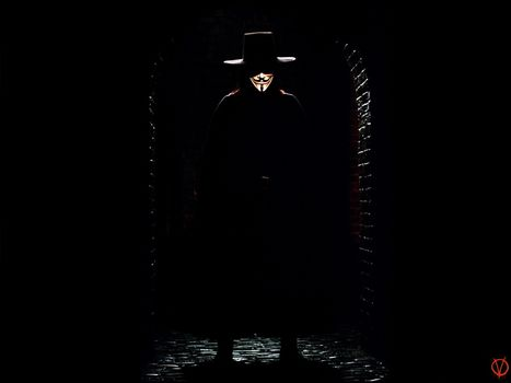 «V» значит Вендетта, V for Vendetta, фильм, кино