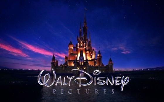 walt disney, логотип, замок