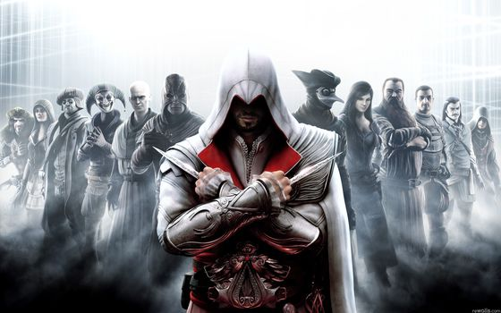 assassins creed, brotherhood, Assassin