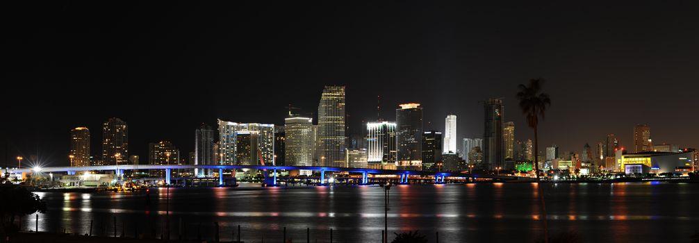 panorama, ночной, City