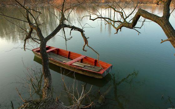 картинки красивая природа лодки