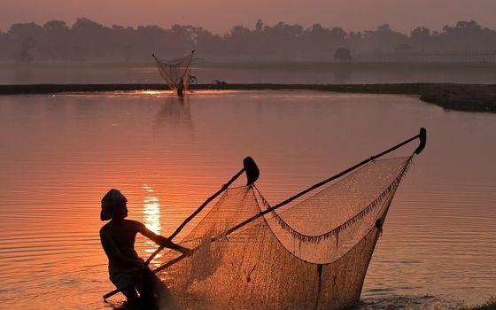 сетка рыболовная невод