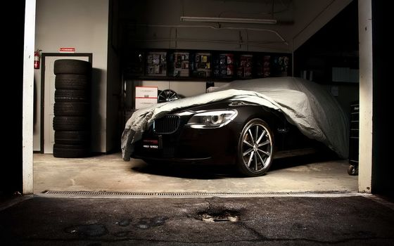 bmw, m7, black, cars, machinery, Car