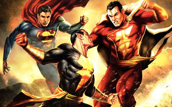 DC Showcase: Superman/Shazam! - The Return of Black Adam, , film, movies