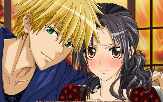 Anime, character, Usui and Misaki