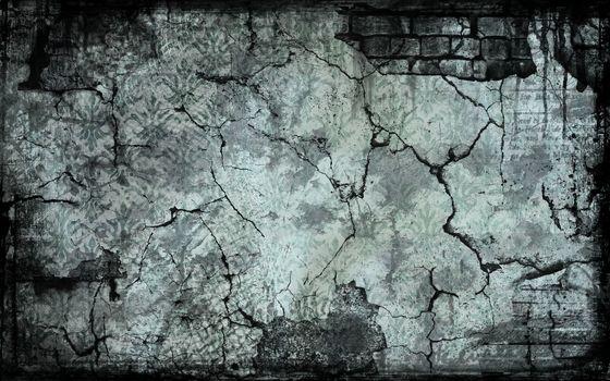 crack, brick