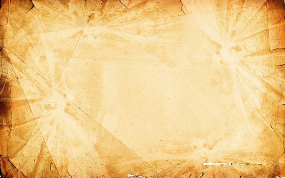 текстура, бумажный фон, бумага, огонь, коричневый, мятый