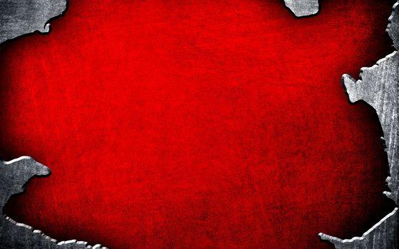 текстура, фон, красный, металлик, края