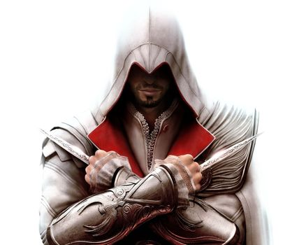 assassins creed, Ezio, killer, Blades, game