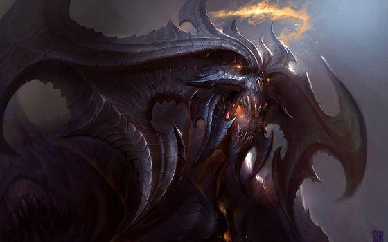 devil, daemon, jaws