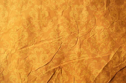 обои рваные, старые обои, текстура, царапины, вектор