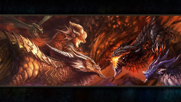 dragon aspect, Dragons, battle