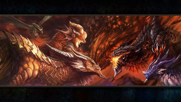 dragon aspect, драконы, битва