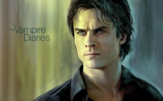 Ian Somerhalder, yen, The Vampire Diaries, Damon