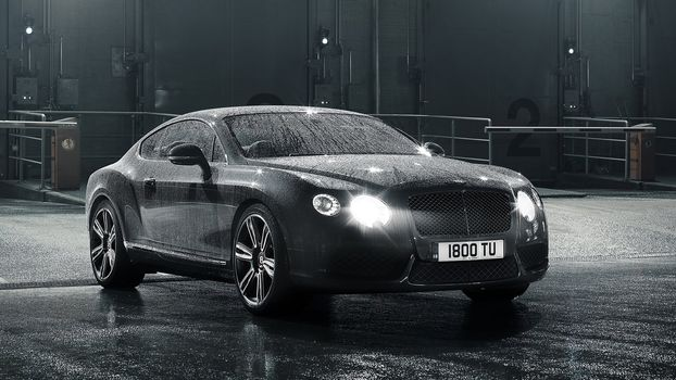 Bentley, Bentley Continental GT V8, 2013, cars, machinery, Car
