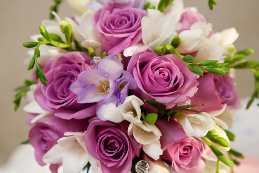 purple, Flowers, Rose, bouquet