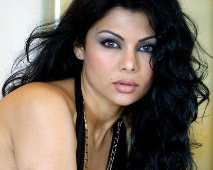 Haifa Vehbi, haifa wehbe, singer, model, Oriental music, brunette