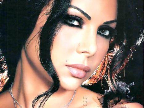 Хайфа Вехби, haifa wehbe, певица, модель, восточная музыка, брюнетка