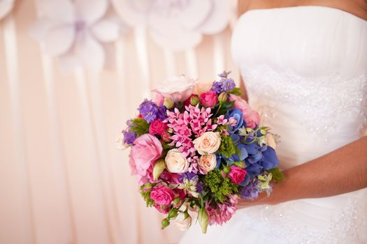 wedding, bouquet, Flowers, holiday