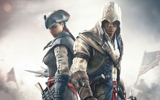 assassin's creed iii, Assassin's Creed 3, Connor Kenuey, Radunhageydu, Evelyn