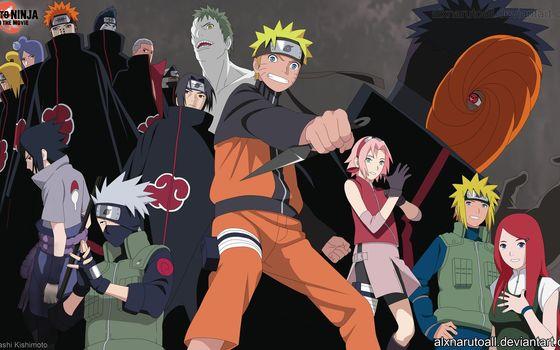 Naruto, Minato, Kushina, Sasuke, Kakashi, sakura, Toby, Akatsuki