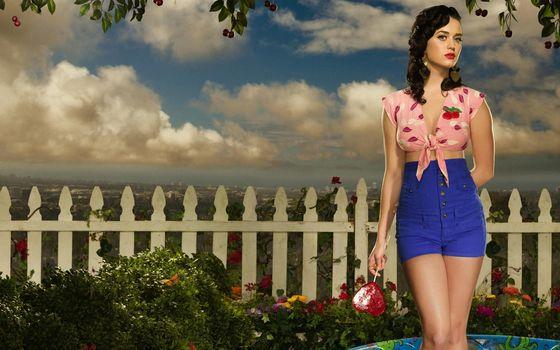 Katy Perry, brunette, pevitsa.poza, candy