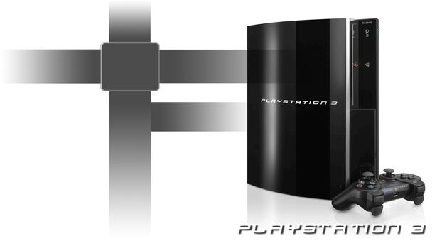 black, joystick, playstation 3, ps3, console, white, background
