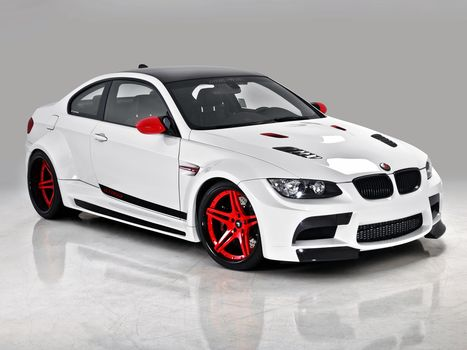 vorsteiner, bmw, m3, coupe, GTRS3, Candy Cane, white, cars, machinery, Car