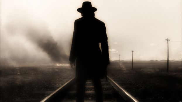 ад на колесах, сериал, железная дорога, ковбой, огонь, дым, фильм, фильмы, кино