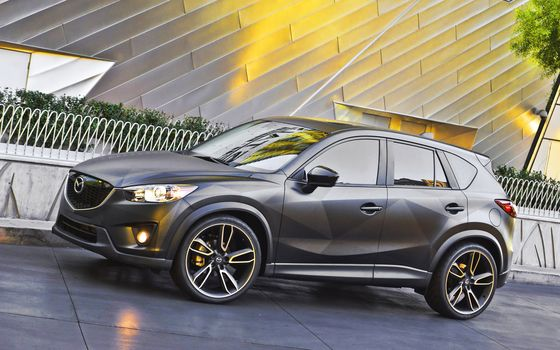 Mazda, CX5, Street, cars, machinery, Car