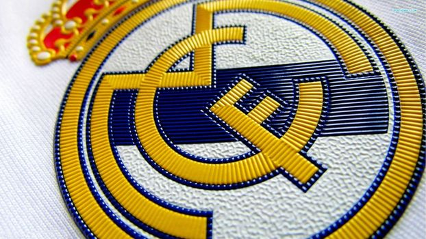 real madrid, emblem, logo, stripe, football