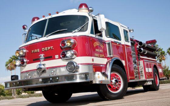Пожарная техника обои на рабочий стол