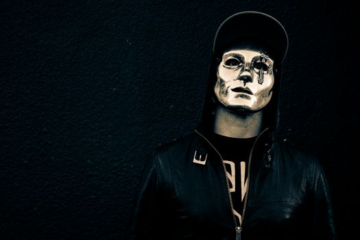 hollywood undead, danny, american tragedy, mask