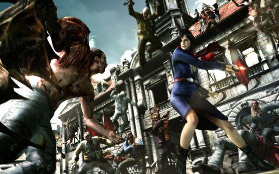 Ада Вонг, монстры, Дж'аво, мутанты, дом, оружие