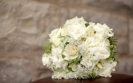 hydrangea, eustoma, bouquet, composition, Flowers