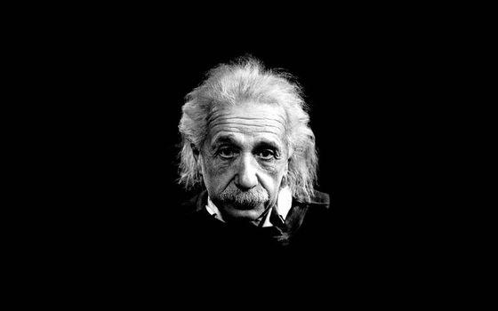 Einstein, Black, White