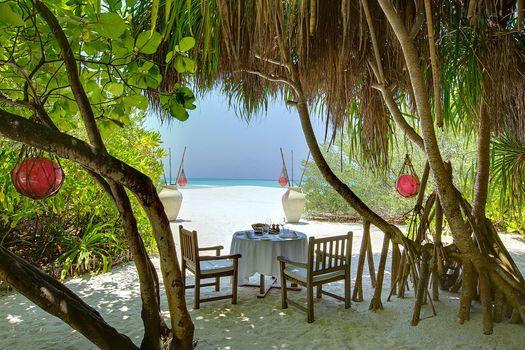 Maldives, tropics, beach