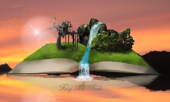 book, 3d, art