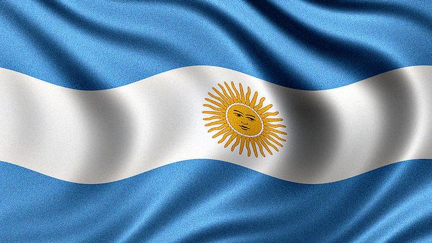 Flag of Argentina, Argentine flag, Argentine Republic flag - flag of argentina