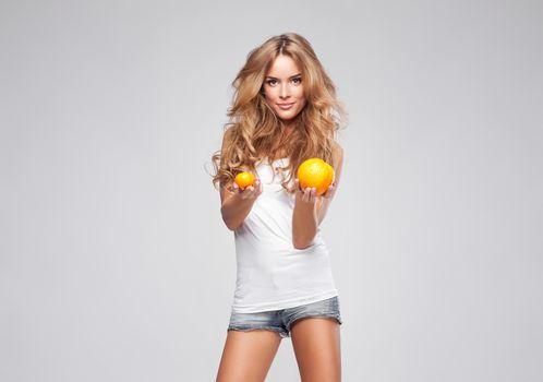 monika, Ordowska, oranges
