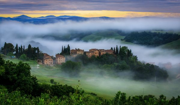 Tuscan, morning, Italy