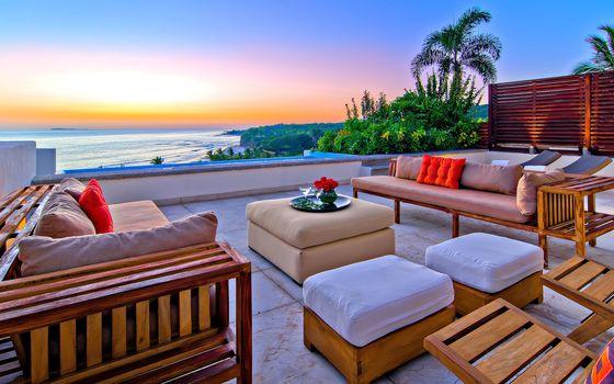 tropics, sea, luxury