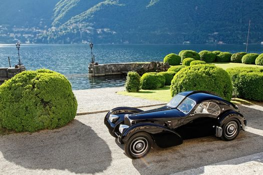 Bugatti, 57SC Atlantic, Lake, Como, Italy