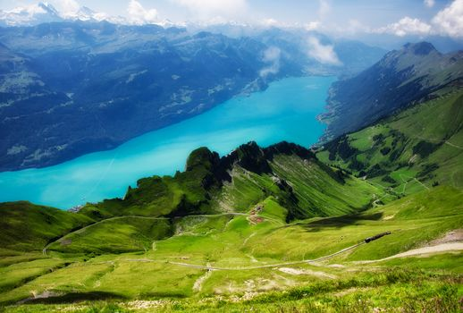 landscape, Switzerland, Mountains, Alps, nature