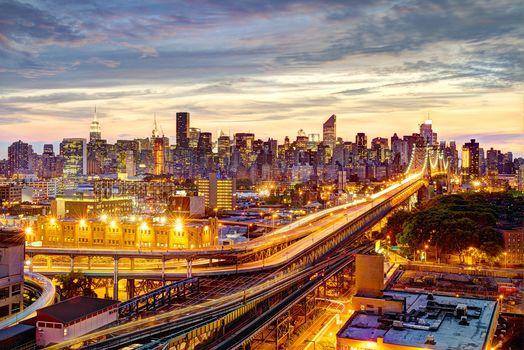 New York City, New York, Queensboro Bridge, Manhattan, NYC, USA, New York, Queensboro Bridge, Manhattan, USA