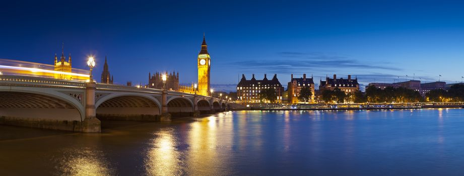 london, bridge, britain, River Thames, lights, night, beautiful, landscape, city, sky, buildings, Big Ben, panorama, London, bridge, UK