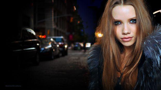 """Anastasia Krivosheeva"", model, beauty"