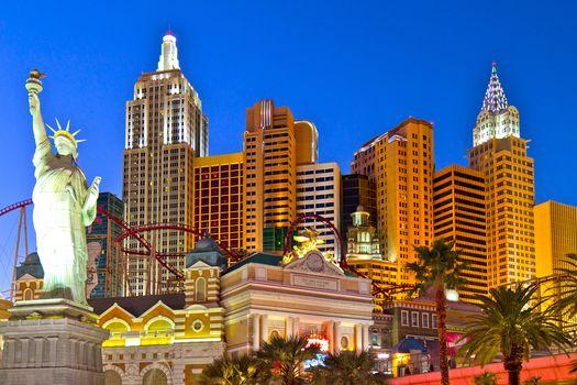 New York, New York Casino, Las Vegas, NV