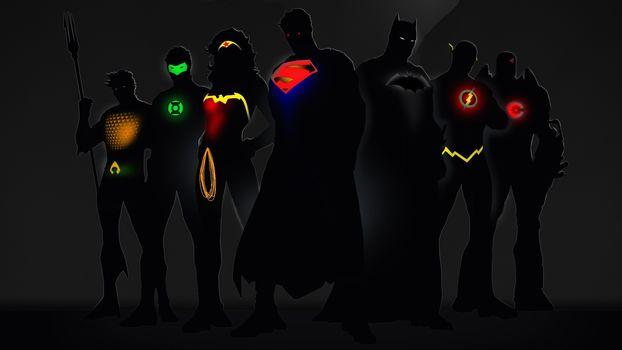 свечение, супергерои