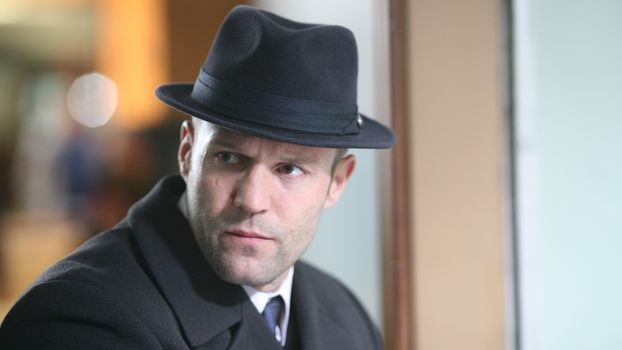actor, Jason Statham, hat, view